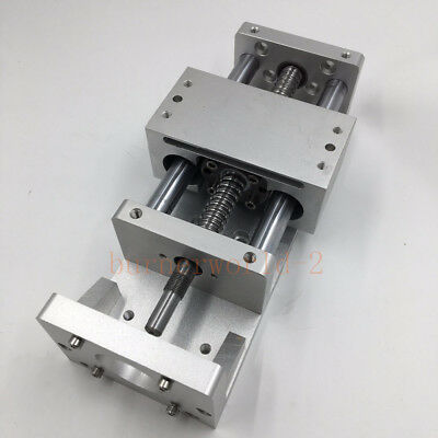 Electric CNC Sliding Table Cross Slide Linear Stage X Y Z Axis SFU1605 Ballscrew