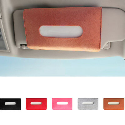 Tissue Paper Box Napkin Storage Case Holder Hanging Home Car Vehicle Reliable