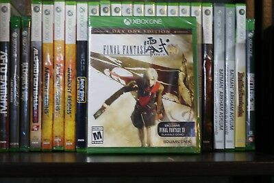 Final Fantasy Type-0 HD -- Day One Edition (Microsoft Xbox One, 2015) NEW SEALED