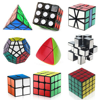 Speed Cube Puzzle Bundle Pack Set Cube Collection Pyramid Magic Twisty Puzzle