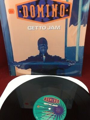 1993 Domino - Getto Jam Single LP Record - 42 77297 - Out Burst Records