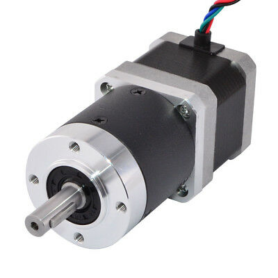 50:1 High Precision Planetary Gearbox Nema 17 Geared Schrittmotor 1.68A 4 Drähte