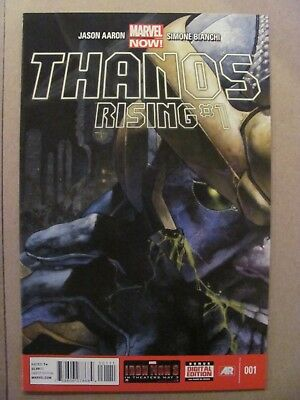 Thanos Rising #1 #2 #3 #4 #5 Complete Marvel 2013 Series Jason Aaron 9.4 NM