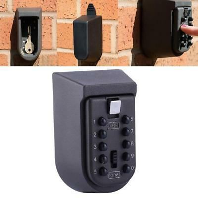 Wall Mounted Combination Key Lock Box Safe Security Storage Case Organizer Home