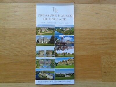The Treasure Houses of England  - 2 for 1 Voucher (NOT VALID AT LEEDS CASTLE)