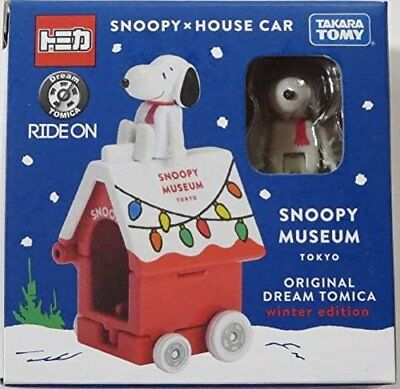 New Snoopy Museum japan limited winter Tomica winter Christmas kennel