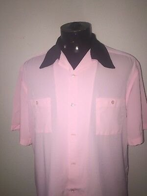 Bowling shirt rayon and viscose large View Factory