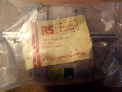GEC 175A BS88 FF HRC 660Vac Double Fuse RS 414-954