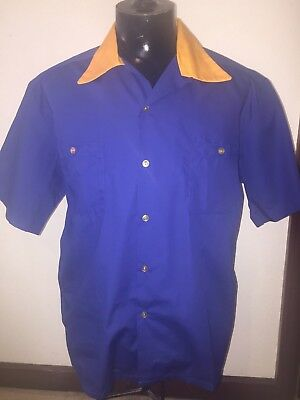 Bowling shirt cotton large