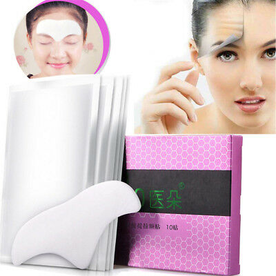 10pcs Forehead Anti-Aging Gel Patches Remove Frown Lines Tight Skin Lifting Mask