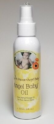 Earth Mama Angel Baby Oil 4 fl oz
