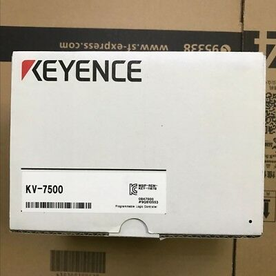 100% NEW Genuine KEYENCE KV-7500 EtherNet/IP built-in CPU unit in Box KV7500