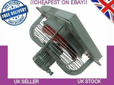 Commercial Ventilation Exhaust Extractor Fan Spray Booth fume 300mm