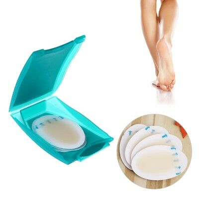 4PCS  Foot Care Skin Hydrocolloid Relief Plaster Blister Patch Heel Protector