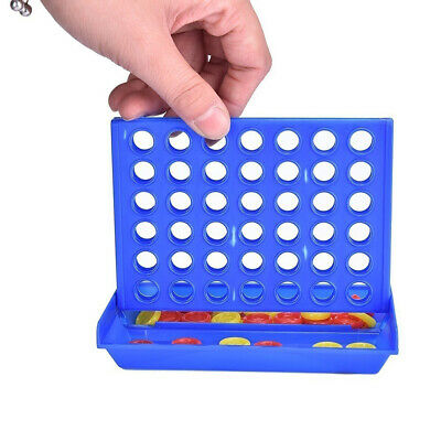 LK_ Connect Four In A Row 4 In A Line Board Game Kids Children Educational Toy