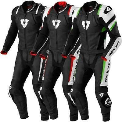 New Rev'it Stellar Motorbike Racing Leather 2 Piece Suit, All Sizes & Colors