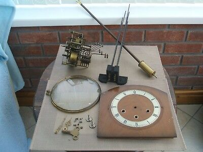 Complete Grandmother Clock Workings And Fittings