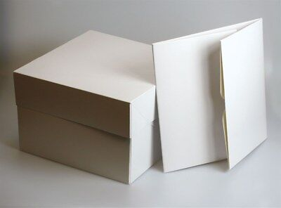 "Cake Transport Cakes Boxes Birthday Wedding Box Choose Size & Quantity 8"" - 20"""