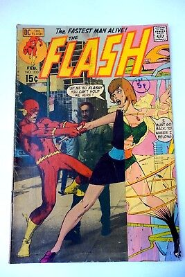 DC Comics ~ THE FLASH ~ Issue 203 1971 The Fastest Man Alive!