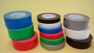 Duct Gaffer Waterproof Cloth Tape in many colours 20mm,40mm,48 mm width