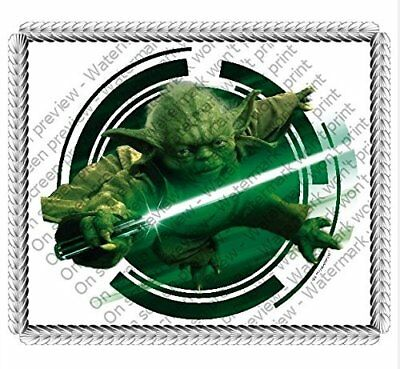 Star Wars Yoda New Cake Topper Edible Icing Image Picture Frosting Sheet Cake