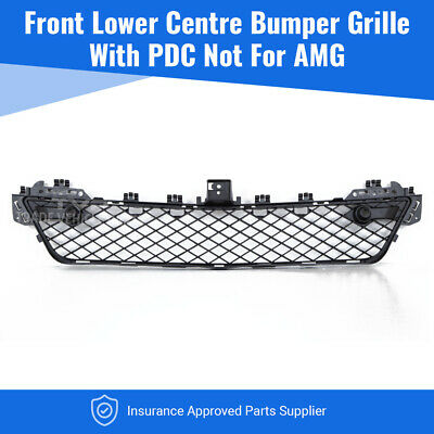 Mercedes C-Class W204 2011-2014 Front Centre Bumper Grille With Pdc Not For Amg