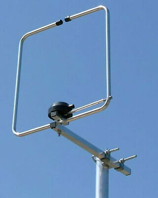 2 Metre Halo Amateur Radio Antenna (Folded Di-Pole)