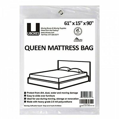 Waterproof Queen Size Mattress Cover Heavy Duty Polyethylene Bed Bug Protector
