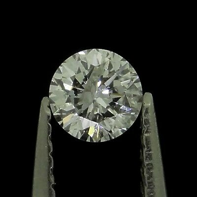 round brilliant natural diamond G I2 0.12ct Genuine Loose Diamonds NR