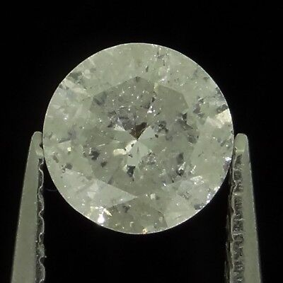 round brilliant natural diamond H I3 0.33ct Genuine Loose Diamonds NR