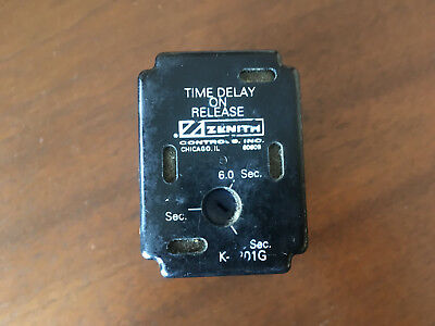 GE Zenith K1201 K1201G Time Delay P1 Relay for ZTS Style ATS Variation 4