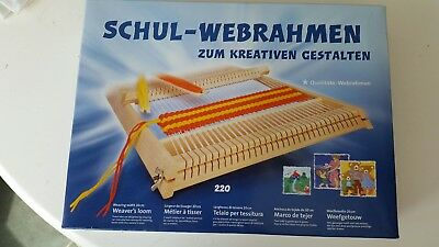NEW WEAVING LOOM / FRAME for school-age children