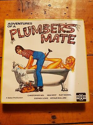 """""""Adventures of a plumbers mate"""" super 8 movie rare vintage"""