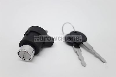 Volkswagen Golf MK1 74-83 Black Tailgate Rear Boot Lock With Pair of Keys
