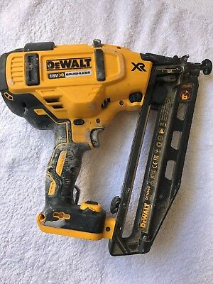 DEWALT DCN660 2nd FIX NAIL GUN - used/good working condition. 2017 dated.