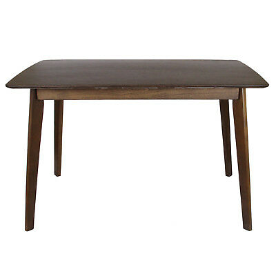 Wooden Dining Table 6 Seater Vintage Antique Style Flatpack Mahogany Effect Wood