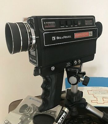 Bell and Howell 1230 XL Filmosonic Super 8 Cine Camera