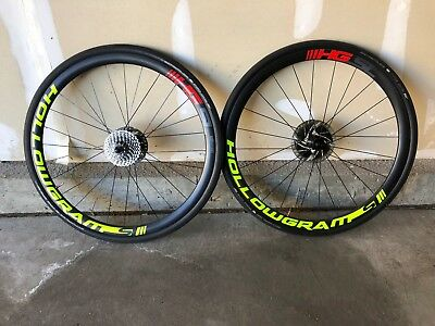 2888f2d0ee3 CANNONDALE HOLLOWGRAM SI Carbon Clincher Or Tubeless Wheelset 35mm ...