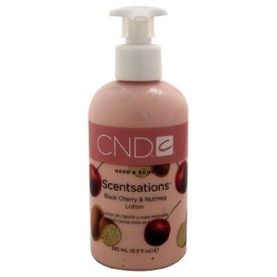 CND Hand & Body Scentsations ~ Black Cherry & Nutmeg Lotion 245ml/8.3 fl oz ~