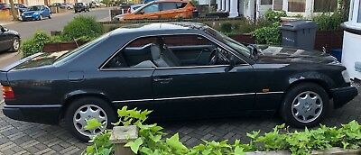 mercedes benz 230 ce 1992 with service history and private plate