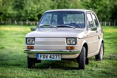 Fiat 126P Genuine 1978 Fully Restored Tax And Mot Exempt May Px