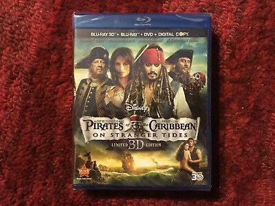 Pirates of the Caribbean : On Stranger Tides : 5 - Disc Blu-ray + 3D + DvD + Dig