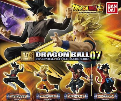 BANDAI DRAGON BALL Z Super VS Series 07 4sets complete Japan import