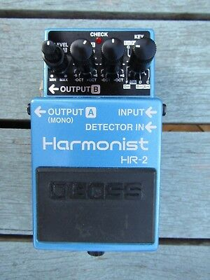 BOSS Harmonist HR-2 - a rare pedal in great condition.