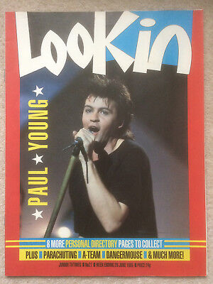Look In Magazine 29 Jun 1985 #27 Paul Young