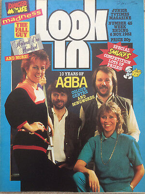 Look In Magazine 6 Nov 1982 #45 Abba