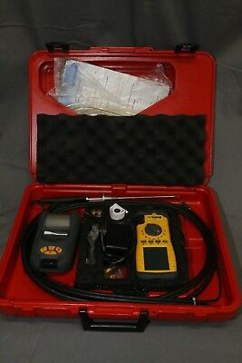 UEi Eagle 2X C155 Extended Life Combustion Analyzer kit with thermal printer