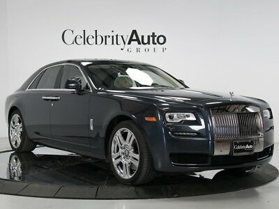"2015 Rolls-Royce Ghost Series II Rear Theatre, Picnic Tables, Paldao Wood 2015 ROLLS ROYCE GHOST SERIES II, REAR THEATRE, 21"" WHEELS, EXTENDED LEATHER"