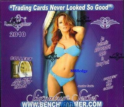2010 Benchwarmer Signature Series Sealed Hobby Box Only 99 Cases Was Made!!!