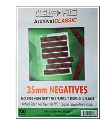 CLEARFILE ARCHIVAL CLASSIC ~ 35mm Negative Pages